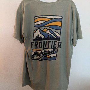 Men's L Comfort Colors Younglife Frontier T Shirt